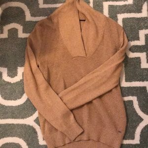 Camel Tommy Hilfiger Sweater